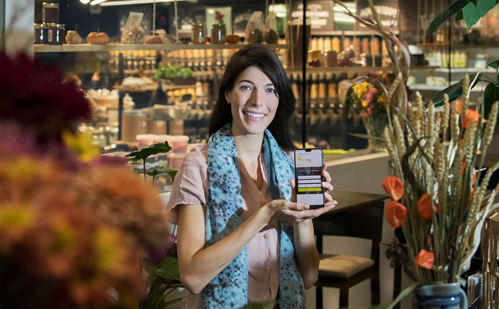 Diese Luzernerin hat eine App entwickelt, die nachhaltige Unternehmen sichtbar macht
