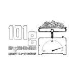 101g-Lebensmittel im Offenverkauf